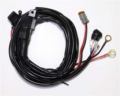 Rigid LED Light Bar Wiring Harness All Sizes