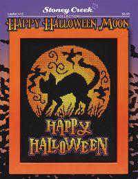 Leaflet 415 Happy Halloween Moon  Stoney Creek Online Store