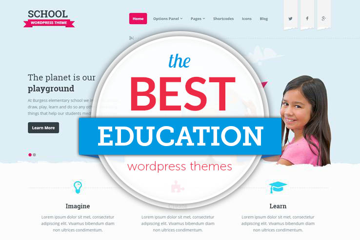 50+ Best Education WordPress Themes 2018
