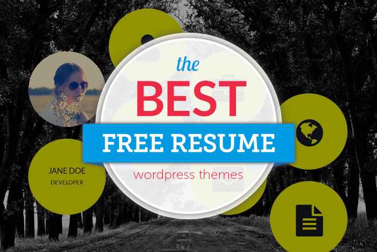 12+ Awesome Free Resumé WordPress Themes 2018
