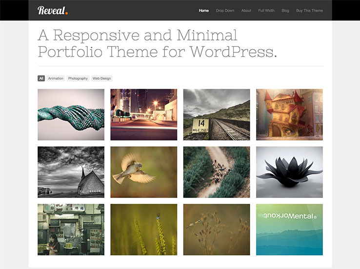 40+ Best WordPress Themes for Artists 2018