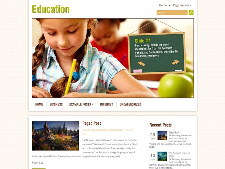 18+ Free Education WordPress Themes 2018