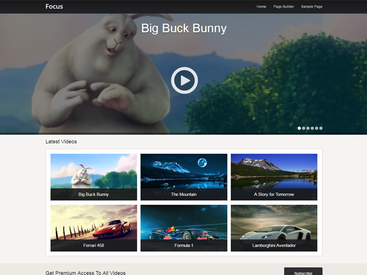 17+ Free WordPress Video Themes