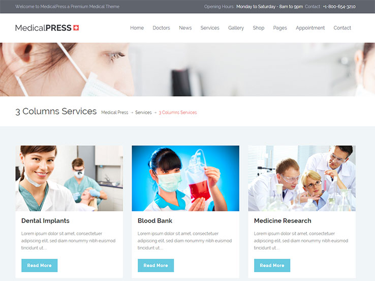 45+ Best Medical WordPress Themes 2018