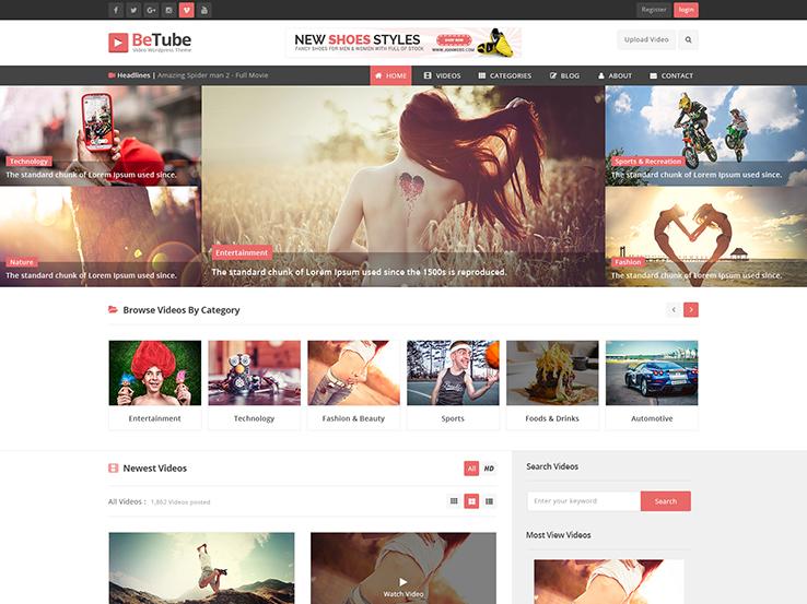 30+ Best WordPress Video Themes