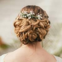 eva gypsophila hair comb by gypsy rose vintage ...