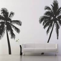 palm tree wall stickers by the binary box ...