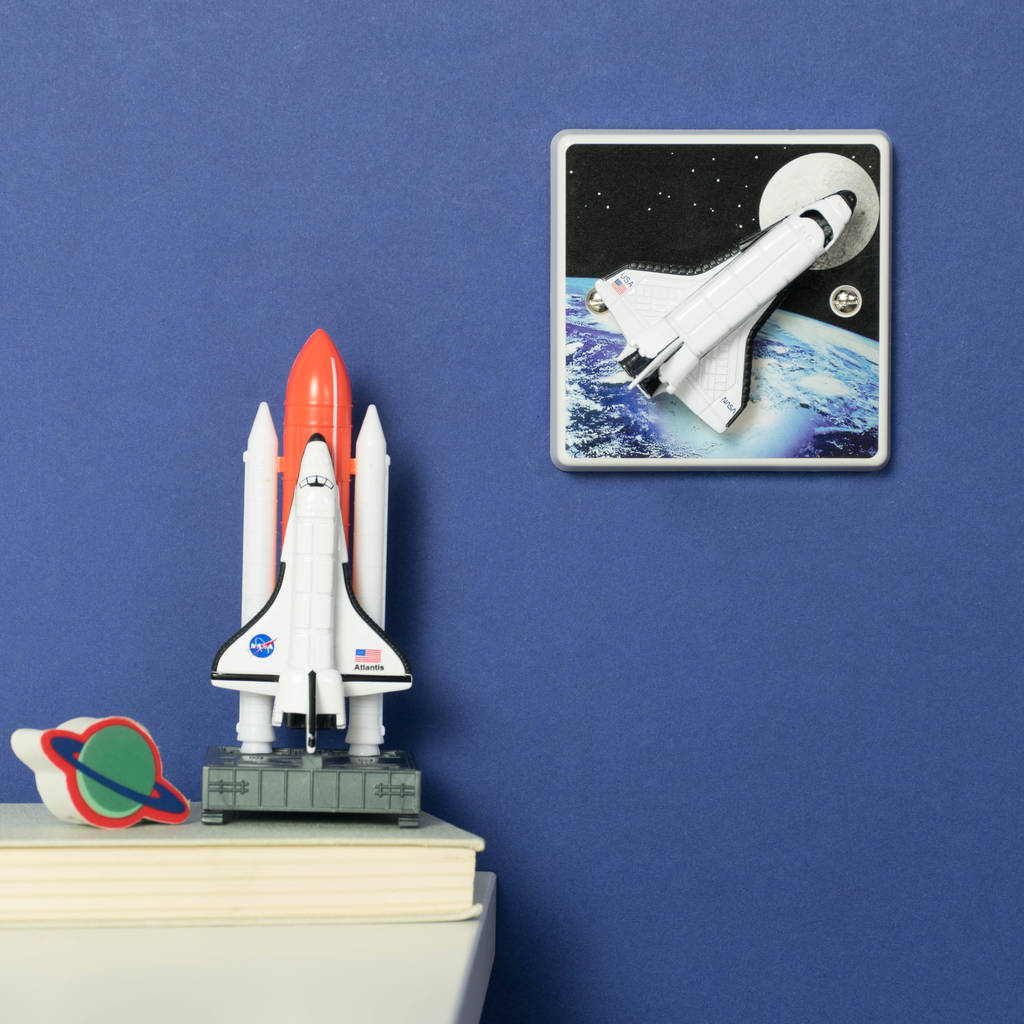 Space Themed Lamp Outer Space Bedroom Rocket Light Switch By Candy Queen