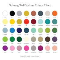 large stars decorative wall stickers by nutmeg ...