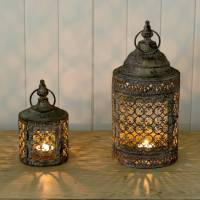 moroccan style lattice candle lantern by the flower studio ...