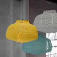 lace lamp shades by the forest & co | notonthehighstreet.com