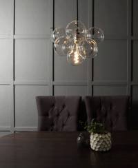 bubble chandelier light by dowsing & reynolds ...