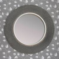 dante round silver mirror by decorative mirrors online ...