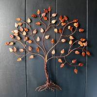 copper wire tree of life wall art by london garden trading ...