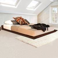 low wooden modern bed frame by get laid beds ...