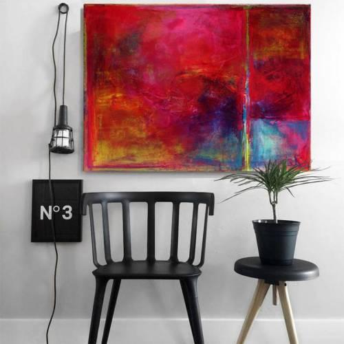 Medium Of Abstract Canvas Art
