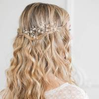 flower wedding hair pins by britten weddings ...