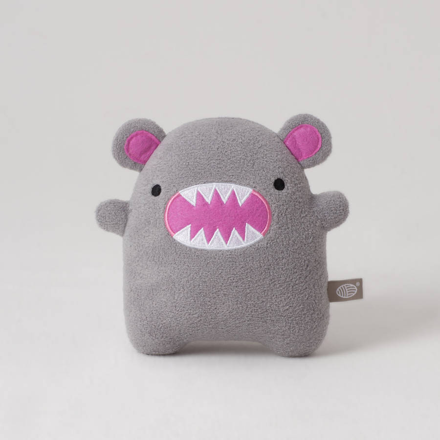 Toy Monster Riceroar Monster Soft Toy By Noodoll | Notonthehighstreet.com