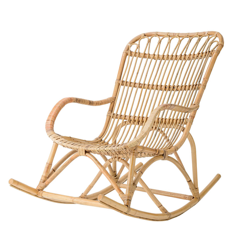 Rocking Chair Question Rattan Rocking Chair In Natural By Out There Interiors