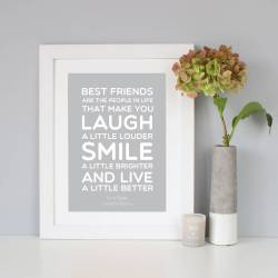 Small Of Best Friend Quote