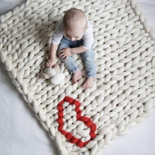 Medium Crop Of Knitted Baby Blanket