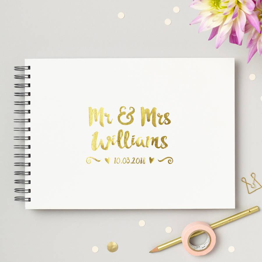 Rousing Mrs Wedding Guest Book By Martha Brook Guest Book Wedding Ideas Pinterest Guest Book Wedding Walmart Personalised Mr Mrs Wedding Guest Book Personalised Mr wedding photo Guest Book Wedding