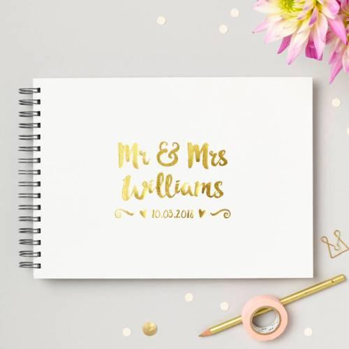 Medium Crop Of Guest Book Wedding