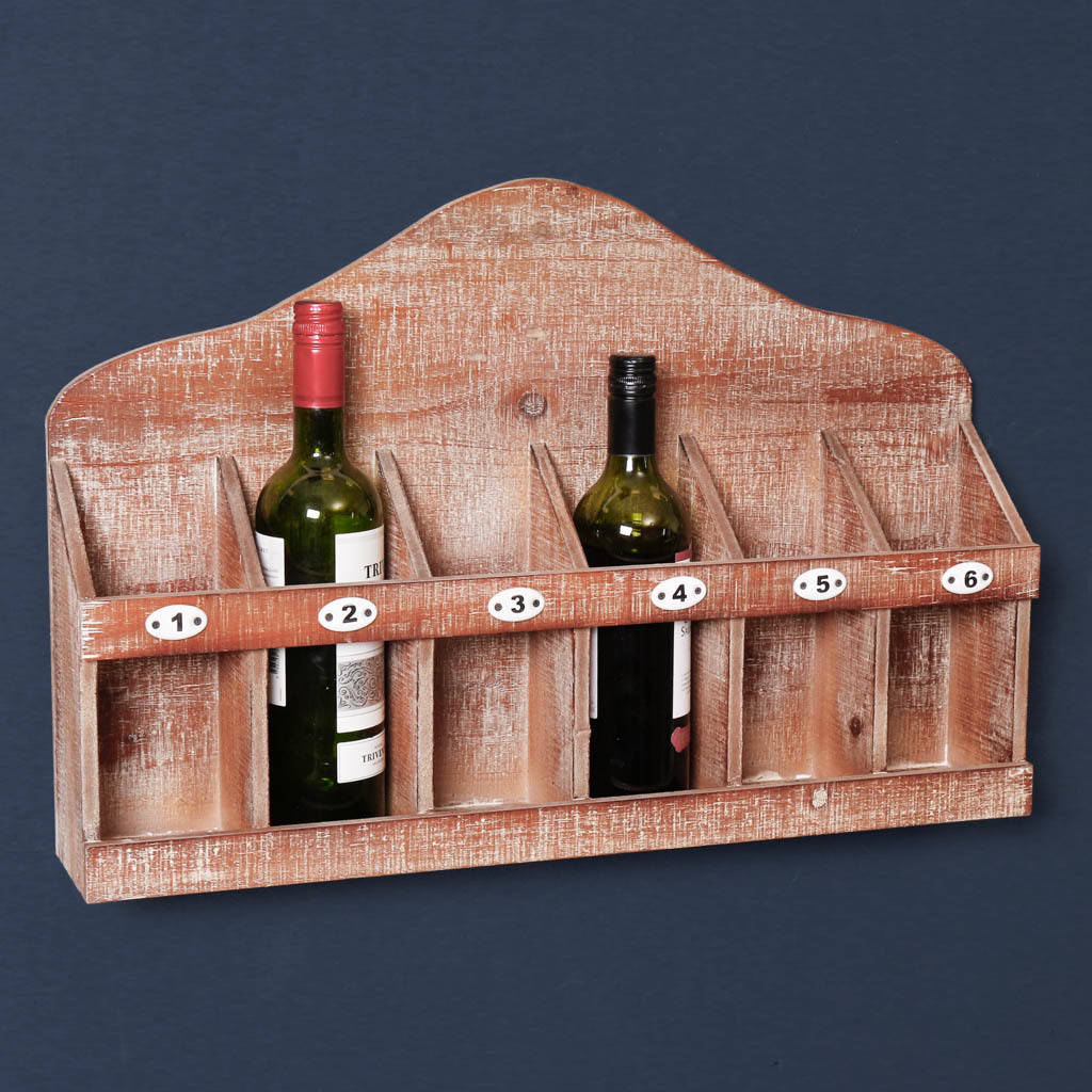 Hanging Bottle Rack Wine Enthusiast Wooden Bottle Rack By Dibor
