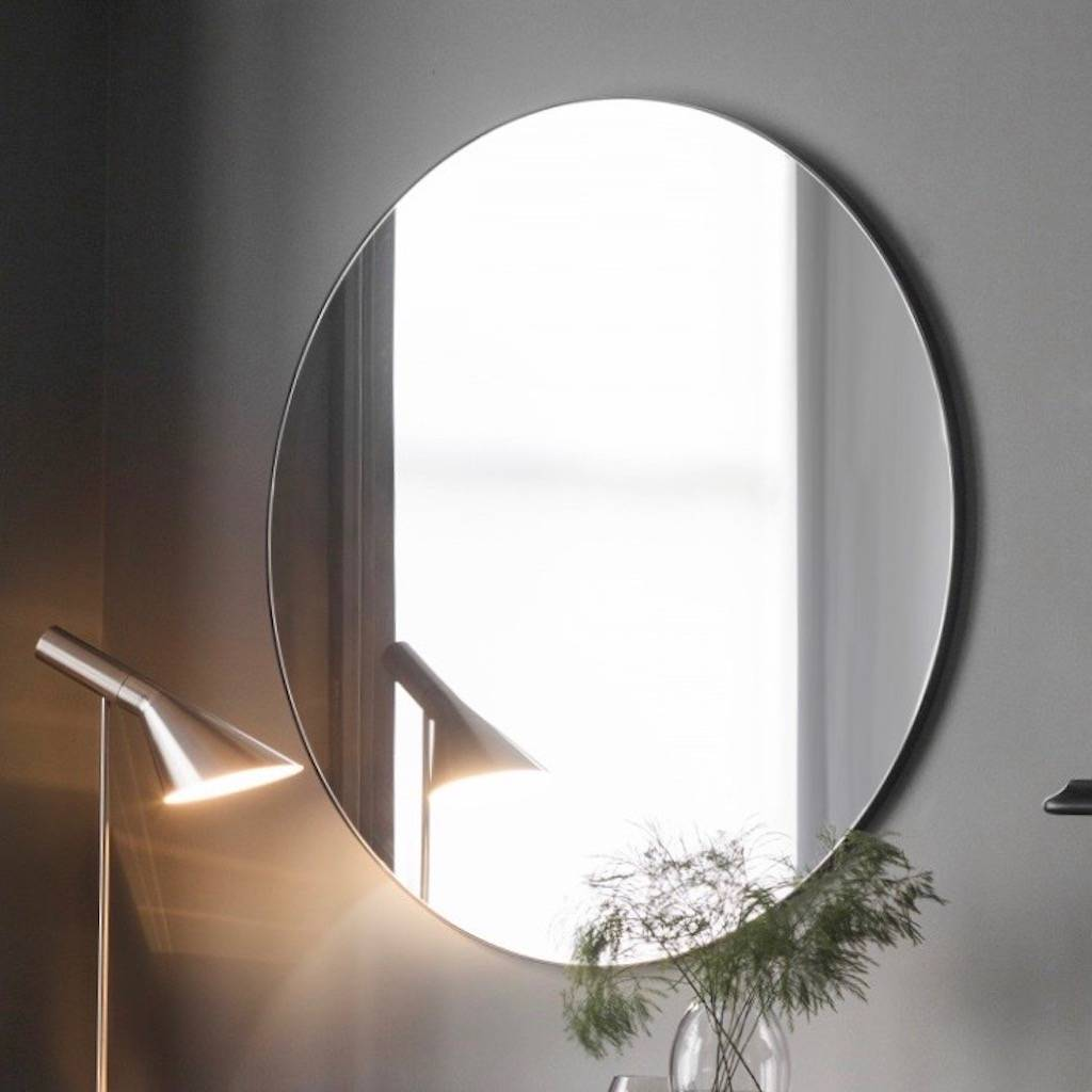 Large Mirror Extra Large Slim Round Mirror By The Forest And Co