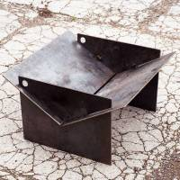 tecton steel collapsible fire pit by magma firepits ...