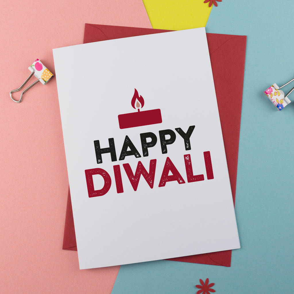 Happy Deepavali Greetings Card Happy Diwali Greetings Card By A Is For Alphabet