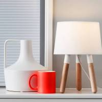 colour dip table lamp by thelittleboysroom ...