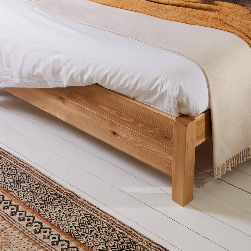 Wooden Beds London Wooden Bed Frame