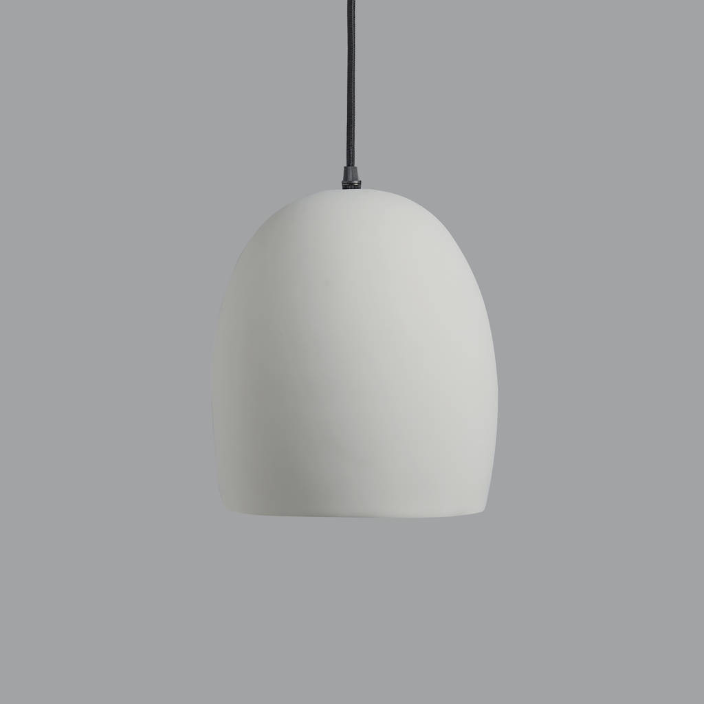 Jb Lighting Varyled A7 Zoom Grey Ceramic Pendant Light By Horsfall And Wright