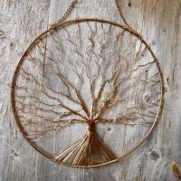 copper tree wall art by london garden trading ...