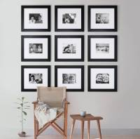 Images Of Picture Frames On A Wall - Home Design