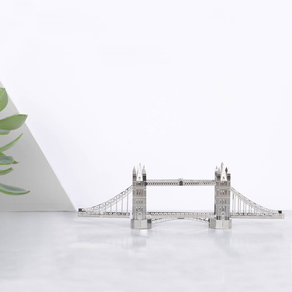 Architectural Model Kits Tower Bridge Architectural Model Kit By Another Studio