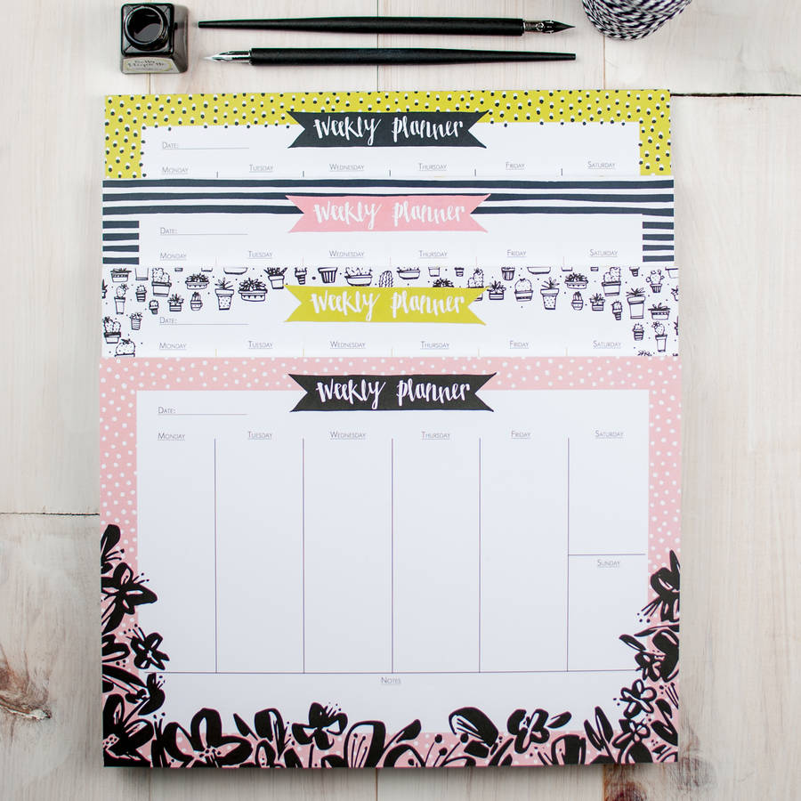 How To Add Calendar To Homepage Sneaker Release Dates Finish Line Bold Breton Weekly Planner Desk Pad By Betty Etiquette