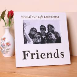 Natural Personalised Friends Photo Frame Personalised Friends Photo Frame By Friends Frame Scripture Triple Friends Forever Frame