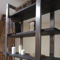 industrial style freestanding shelving unit by cosywood ...