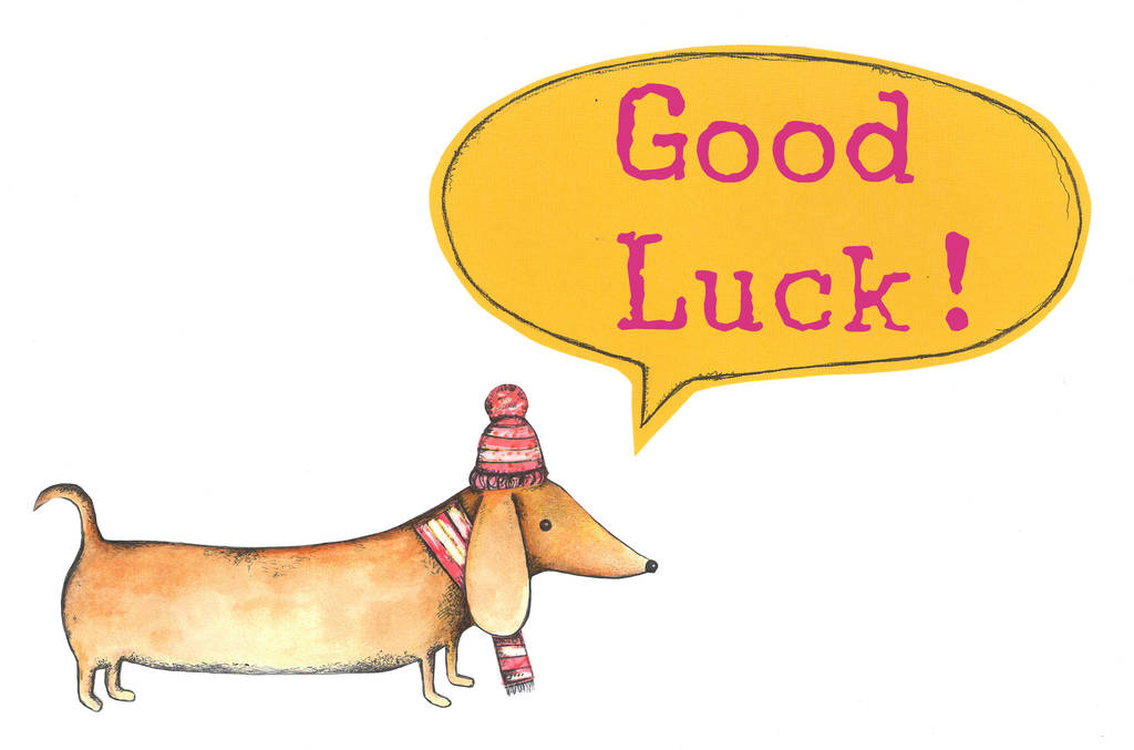 Contemporary Good Luck Cards To Print Ideas - Administrative Officer