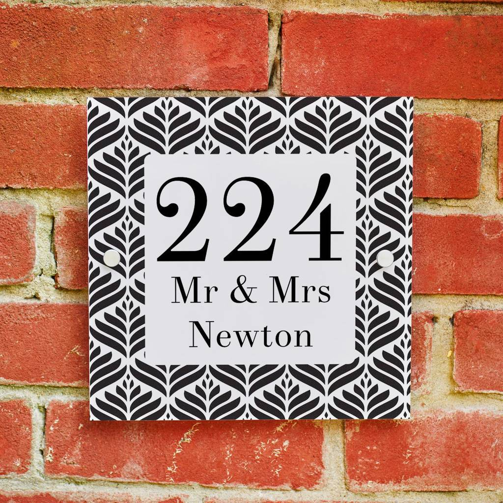 High End Housewarming Gifts Personalised House Warming Gift By Lou Brown Designs