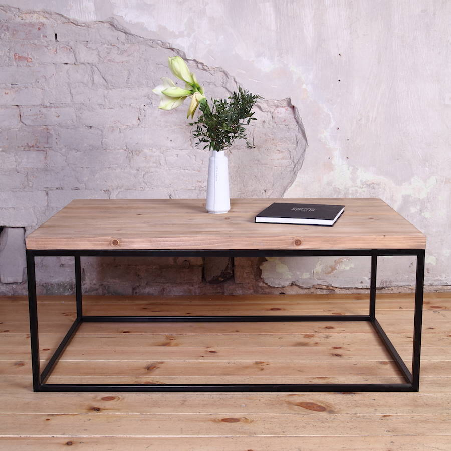 Ikea Couchtisch Schwarz Industrial Style Coffee Table By Cosywood