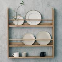 witham oak plate rack by rowen & wren | notonthehighstreet.com