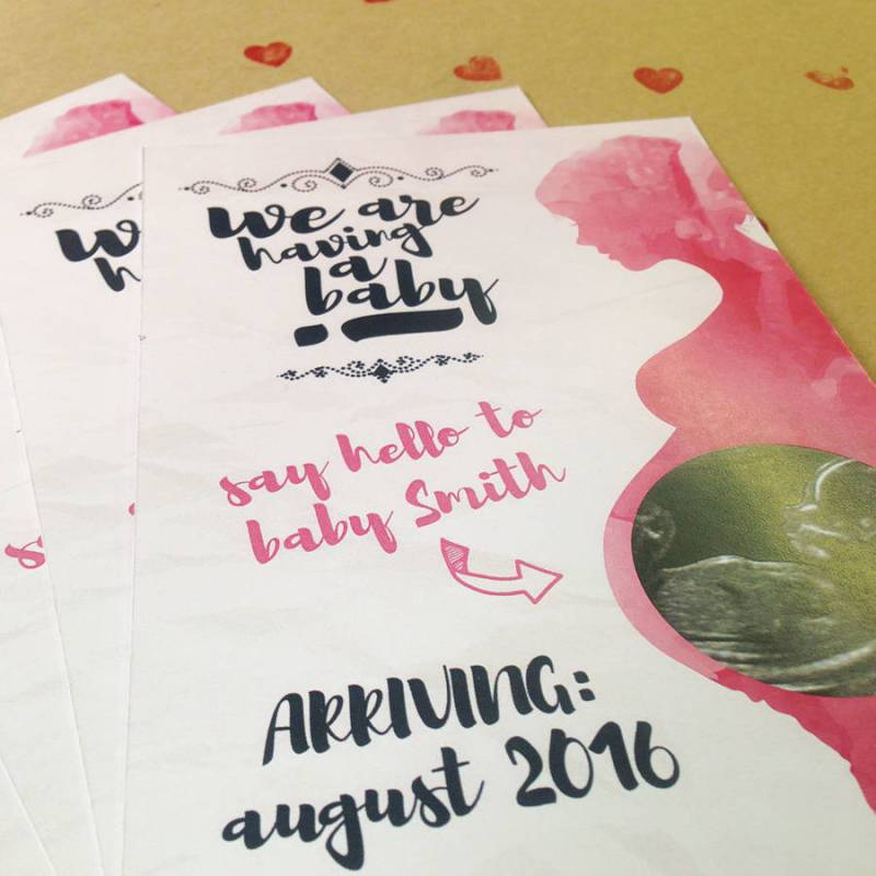 Large Of Pregnancy Announcement Cards