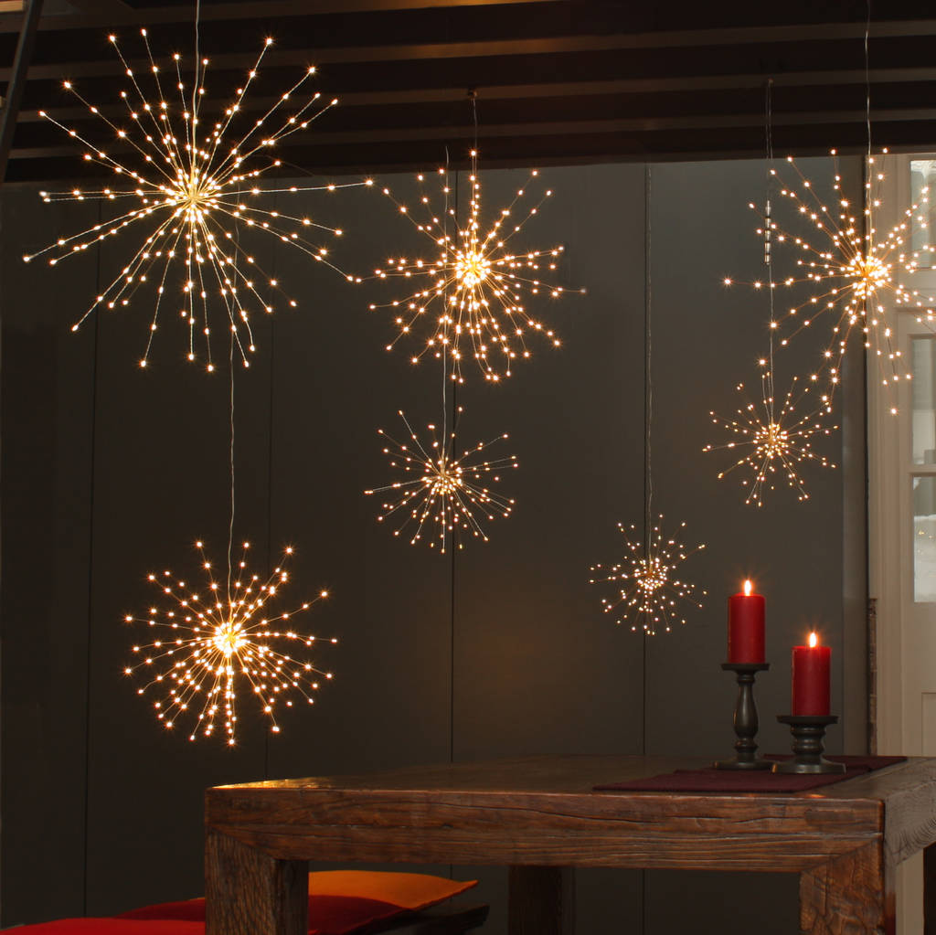 Light Decoration Diwali Starburst Hanging Light Decoration