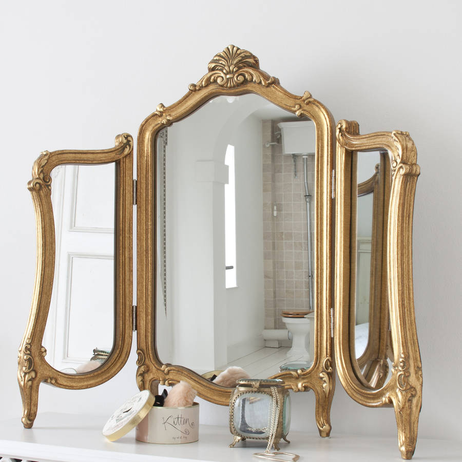 Decorative Mirror Table Valentina Dressing Table Mirror