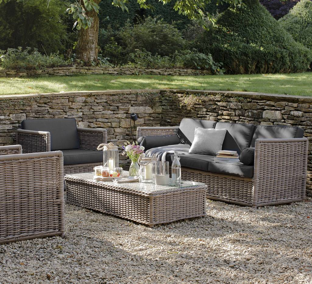 Outdoor Rattan Furniture Set Marden By Idyll Home Notonthehighstreet Com
