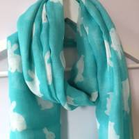 bunny rabbit print scarf by french grey interiors ...