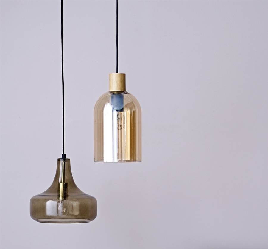 Blown Glass Pendant Lights Blown Glass Pendant Lights By The Forest & Co